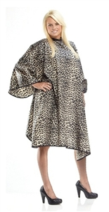 BeautyLove Catwalk Hair Cutting cape, stain, bleach, water resistant.  Silky polyester nylon large 