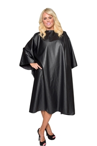 BeautyLove Chemical Reaction chemical water proof cape, chemical hair stylist cape, extra large,