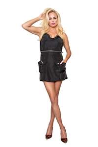 Hi Ho Sliver Apron- NEW ( Sliver Metal Zipper)