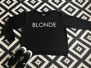 Blonde Sweat Shirt